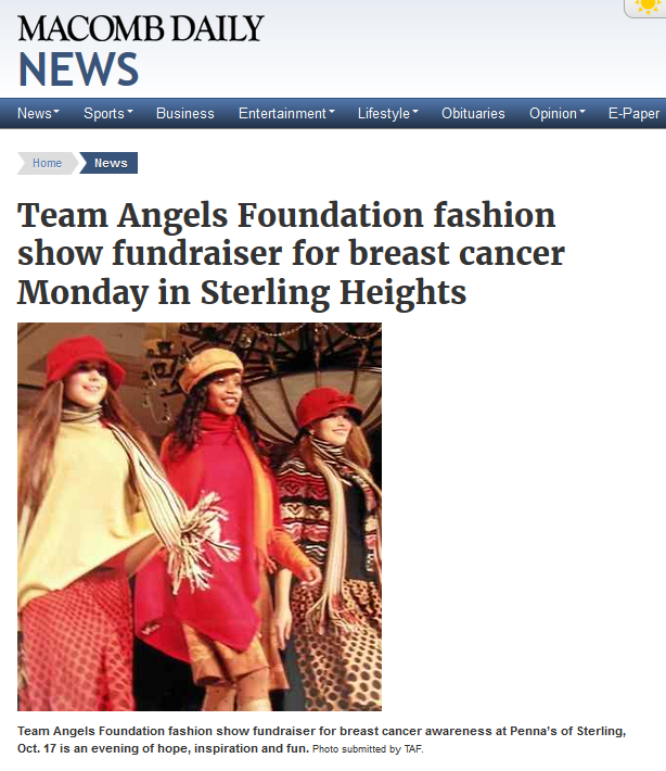Team Angels Fashion Show 2016