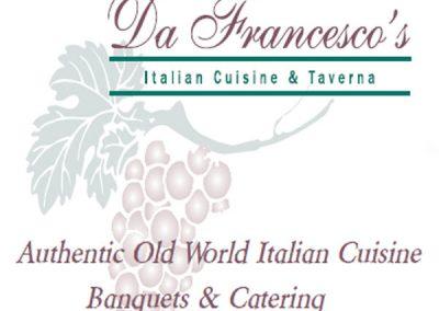Da Francesco's Italian Cuisine & Taverna