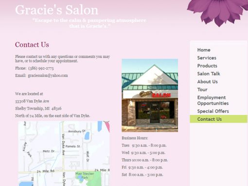 Gracie's Salon