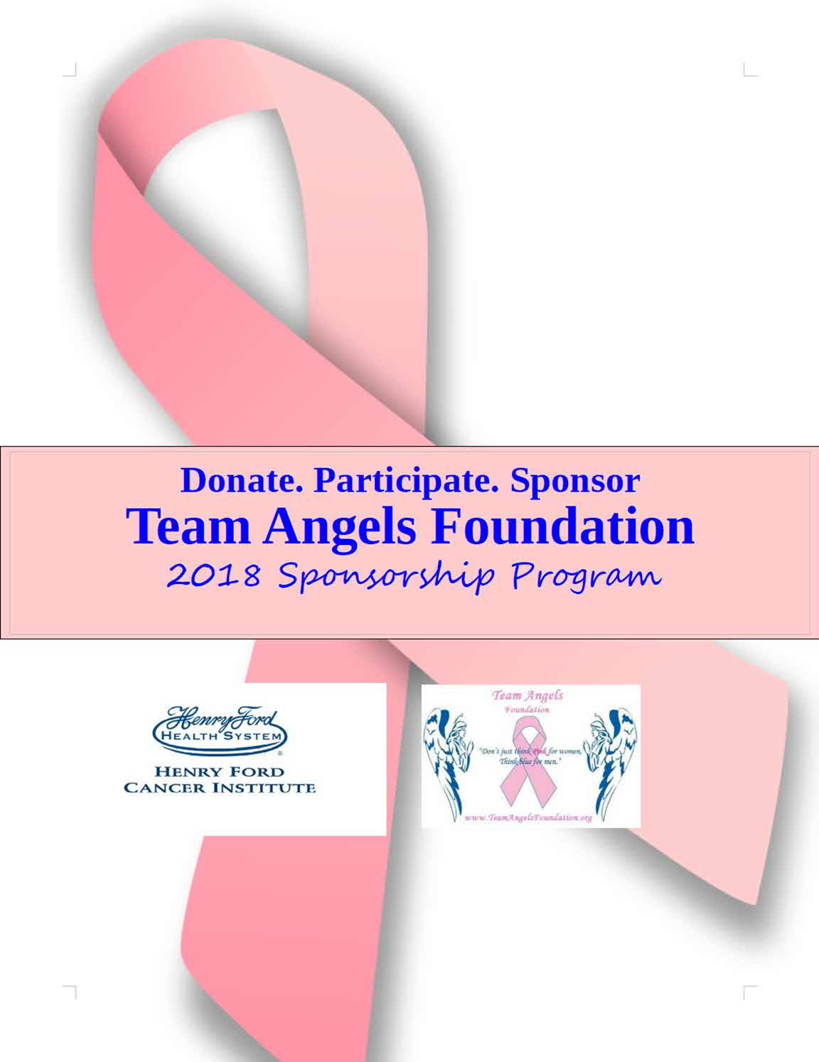 Team Angels Sponsorship 2018