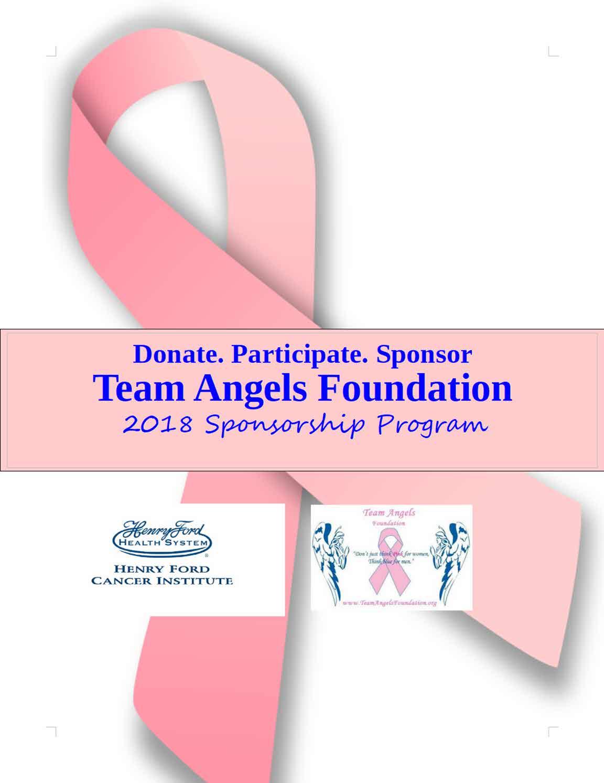 Team Angels Sponsorship 2018